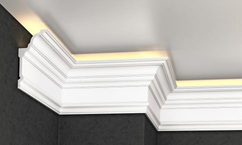 Polystyrene ceiling moulding Glanzepol GP-79