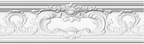 Плинтус потолочный из полистирола Glanzepol GP-86