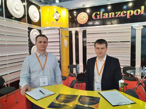 "Команда Glanzepol (""Гланцепол"") на выставке MosBuild"